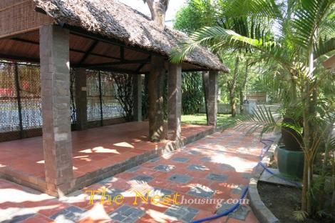 house in compound for rent, 4 bedrooms, dist 2 HCM
