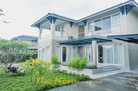 Villa for rent in compound District 9, HCMC