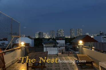 Modern house for rent in Thao Dien, 3 bedrooms, good location