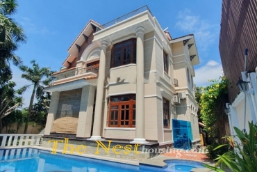 Luxury villa for rent in Thao Dien, private swimming pool, good location
