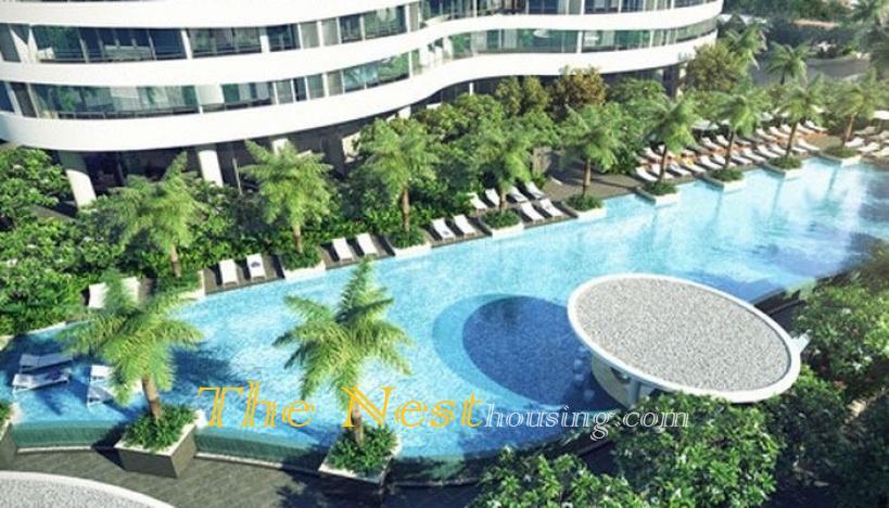 Modern apartment 3 bedrooms for rent in City garden