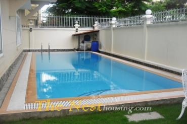 Villa in Thao Dien for rent 4 bedroom private swimming pool