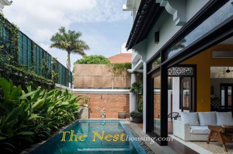 Charming villa for rent, private swimming pool, District 2
