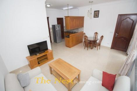 Service apartment 1 bedroom with yard -  in Thao Dien