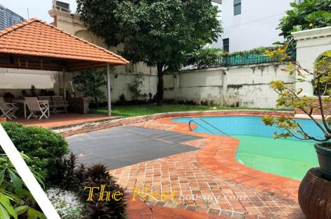 Charming villa 5 bedrooms for rent in District 2