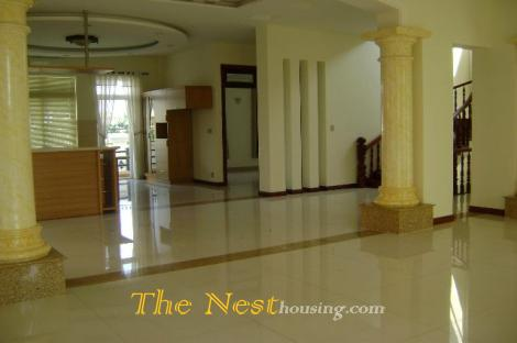 Villa in compound for rent, nice villa with private swimming pool