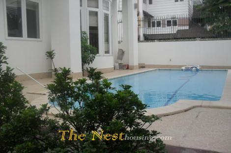 Modern villa for rent in Thao Dien