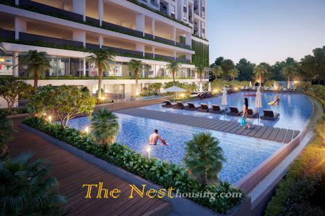 Luxury duplex for rent in Gateway Thao Dien