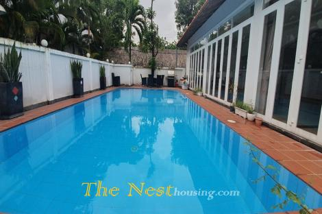 Villa in compound for rent, private swimming pool, good location