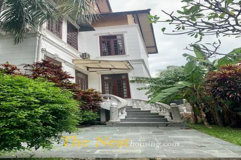 villa for rent in compound, Thao Dien , District 2.
