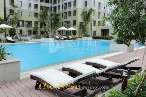 Apartment 2 bedrooms for rent in Masteri Thao Dien