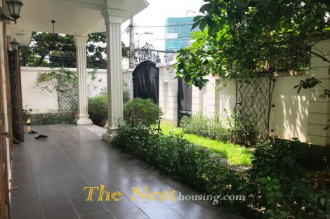 Modern villa for rent in District 2, 5 bedrooms, garden & swimming pool, 4000 USD