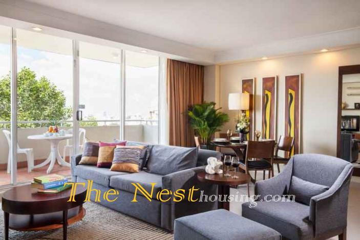SOMERSET Luxury apartment for rent in city District 1, HCMC