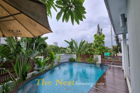 Modern villa for rent in Phu My Hung District 7