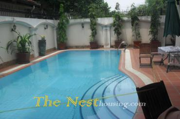 Villa for rent in Thao Dien district 2, has private pool, cheap price 3500 USD