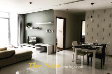 Modern apartment - 2 bedrooms for rent in Vinhomes Central Park, 88sqm, 1150$