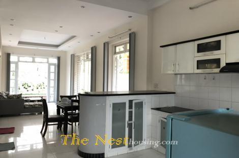 House for rent in compound, 4 bedrooms, fully furnished