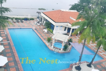Penthouse for rent in District 2, 4 bedrooms, fully furnished, 5800 USD