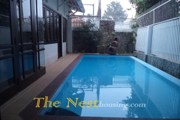 Villa for rent in Thao Dien, swimming pool, 4 bedrooms, 2700 USD