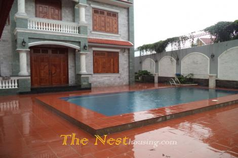 Villa for rent in dist 2,Thao Dien ward. private swimming pool, quiet area