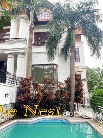villa for rent in compound, Thao Dien , District 2.