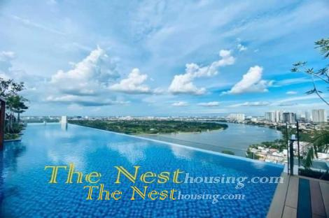 Luxury duplex for rent in D'Edge Thao Dien