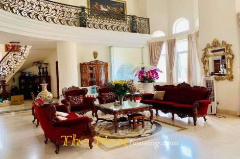 House 5 BEDROOMS for rent Dist 2 hcmc
