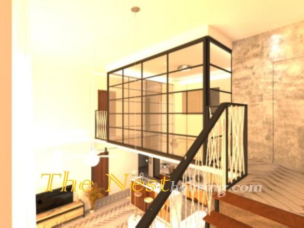 Luxury duplex for rent in D'Edge Thao Dien