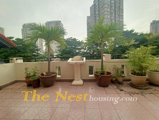 Townhouse for rent in Thao Dien