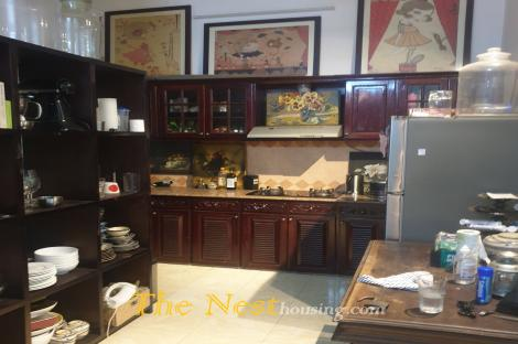House for rent in compound Thao Dien
