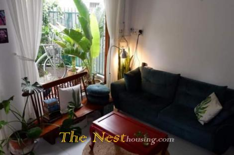 Townhouse 2 bedrooms for rent in Thao Dien