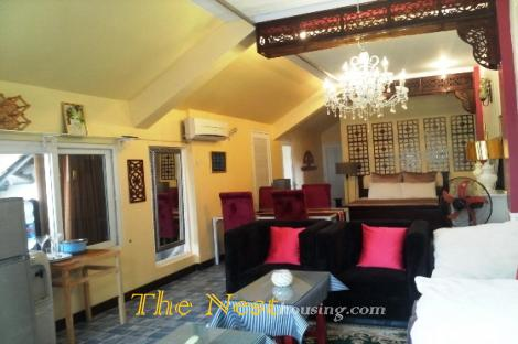 Penthouse for rent in Thao Dien
