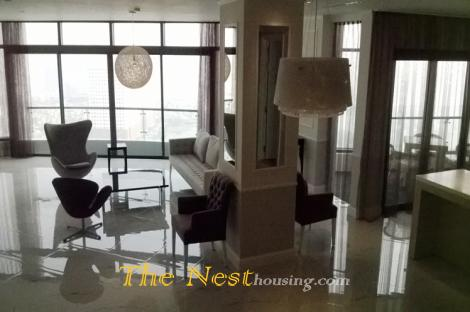 Very nice penthouse apartment in city garden, Binh Thanh Dist, HCM