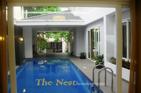 Charming House with swimming pool for rent in District 2
