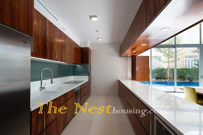 Morden house for rent in HCM city 14