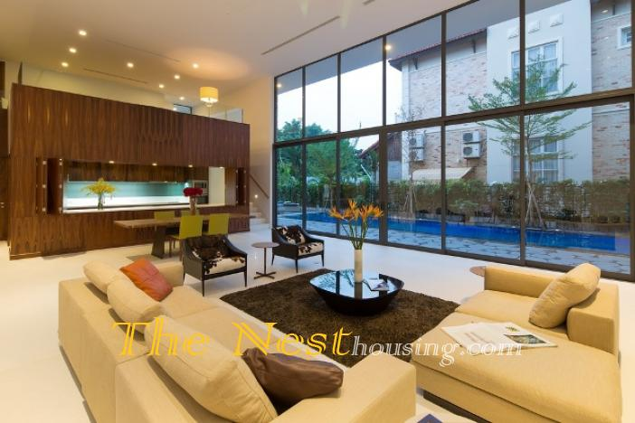 Morden house for rent in HCM city 16 1