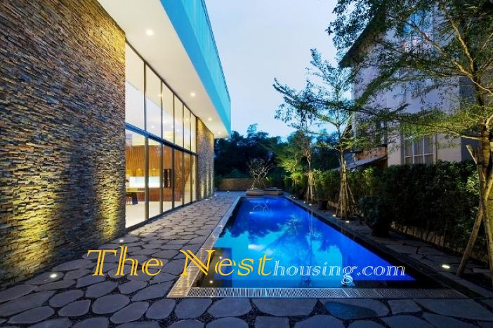 Morden house for rent in HCM city 5