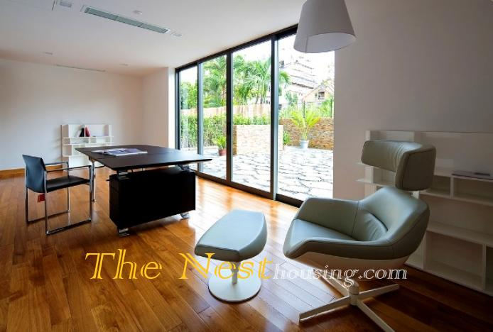 Morden house for rent in HCM city 6