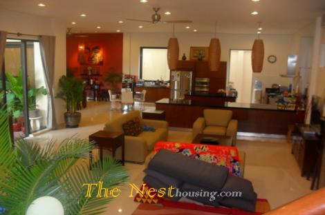 House for rent, 5 bedrooms with garden, district 2