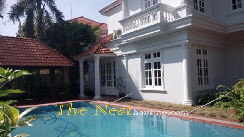 Villa for rent 4 beds pool garden in HCMC 2