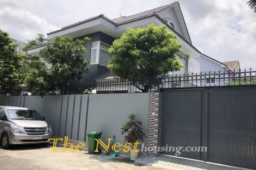 Villa for rent in Fideco Thao Dien.