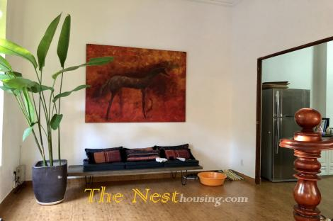 A nice house for rent in Thao Dien, 4 bedrooms, good location, 3300 USD