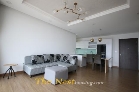 Modern 2 Bedroom Apartment with River View for Rent in Thao Dien, $1000