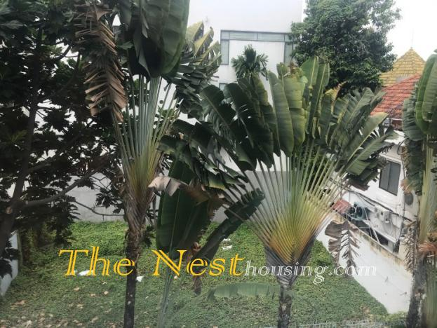 Villa for rent Thao Dien, has 5 bedrooms, swimming pool