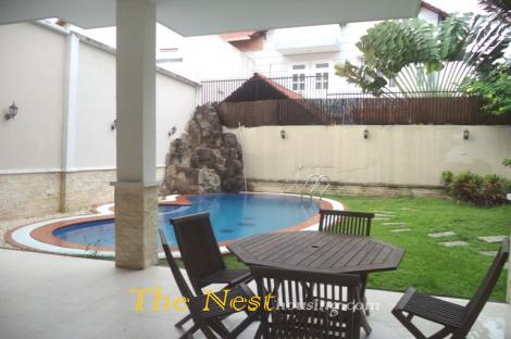 House with private swimming pool in District 2, HCMC