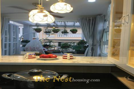 townhouse for rent in Thao Dien, 3 bedrooms