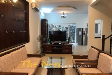 Townhouse for rent in compound, 4 bedrooms, close to An phu supermarket