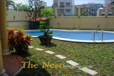 Villa for rent in compound, 4 bedrooms, swimming pool, 4500 USD