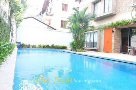 Modern villa for rent in compound, District 2, HCMC