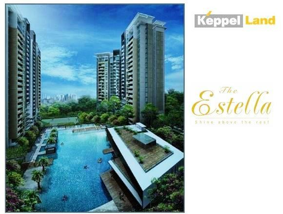 Estella building apartment for living, dist2, near Metro